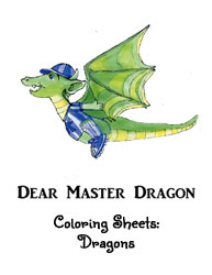Dear Master Dragon Color pages