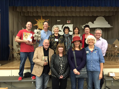Encino Charter School Annual Author Event with Jason Preston