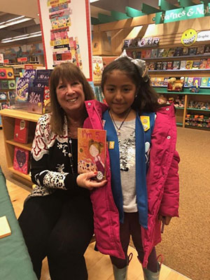 Barnes & Noble Event with Girl Scout Troop