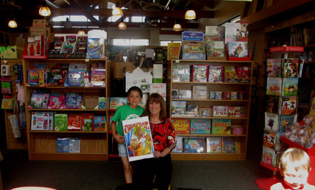Flintridge Bookstore & Coffee House  Welcome Alva For Story Time & Crafts