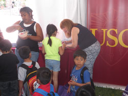 Lots of excited kids, terrific crafts, and amazing volunteers. Circus Fever books were raffled for children to take home!