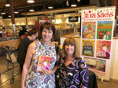 Bristol Farms Hosts Local Community Vendors Alva's Award-Winning Books Make Their Debut