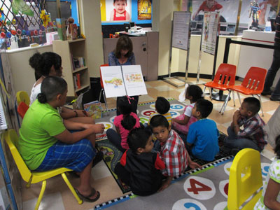 Alva Returns to Curacao for Their Summer Reading Program