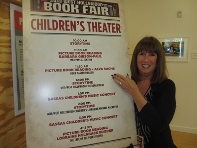 West Hollywood Book Fair Welcomes Alva  to the Children's Theatre