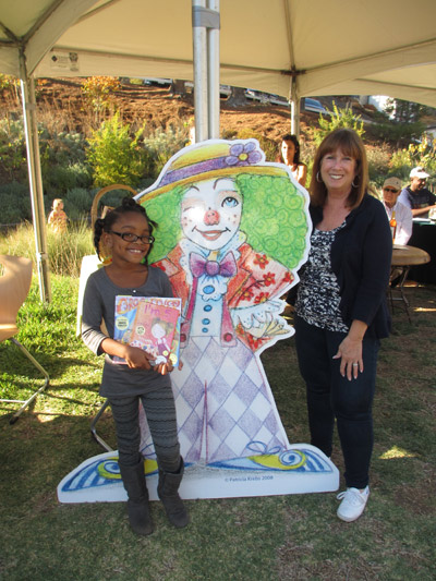 Alva celebrates at MUSE School, CA the Lavender Faire A Family Free Fun-Filled Day Outdoors