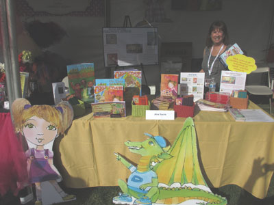Orange County Children's Book Festival Welcomes Alva. Great  fun on the Story Tellers Stage