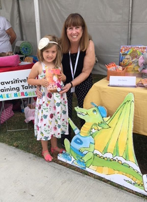 Alva has a return engagement with her Award-Winning Children's Picture Books