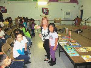 Nevin Elementary School Welcomes Alva for Author's Day
