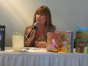 Alva is honored to be part of the panel with three fellow authors: Jennifer V. Wilkov, Kathy Bennett, Alva Sachs, and Jovita Jenkins. Topics discussed included new models of publishing including self-publishing aspects of books in today's marketplace, social media, and trends in technology affecting the book world.
