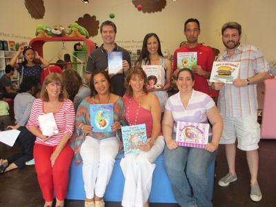 Book Buddies is a group of local LA authors who gather together at special author events to promote literacy and the love of reading.