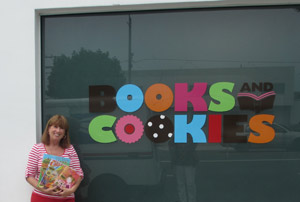 Having a fun-filled reading adventure at Books and Cookies
