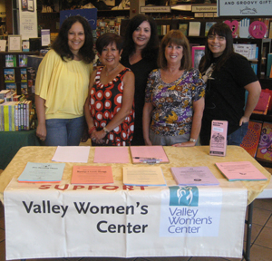 Alva joins in on the day with the Women's Valley Center in support of their organization