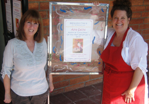 Alva and Connie Halpern, Owner of Mrs. Fig's Bookworm, Share a Special Story Time Event