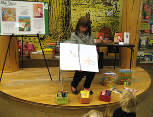 Alva Visits Barnes & Noble in Ventura, CA for a Fun Story Time