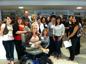 Rally for RIF at Macy's Simi Valley