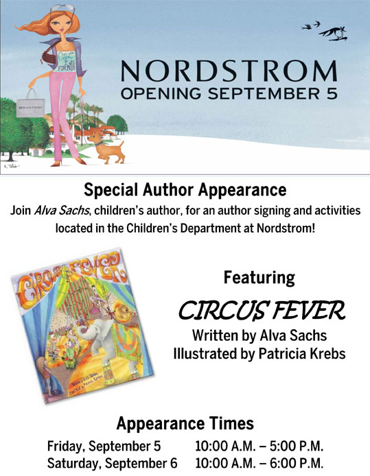 Nordstrom Special Author Appearance